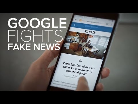Google's plan to fight its fake-news problem