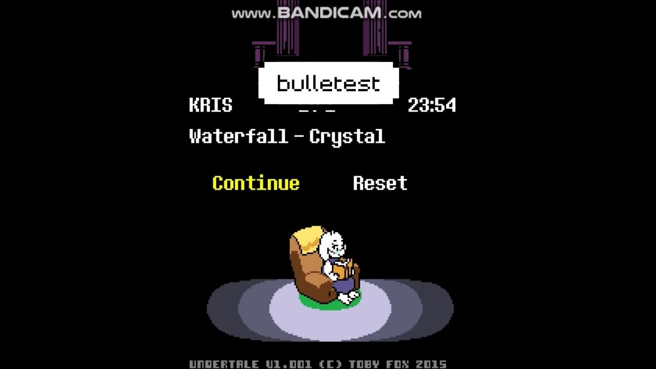 Undertale unused/test rooms Part 1