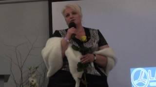 Блестящее выступление Сидак Ольги на Лидерском Бизнес-Форуме. Киев.19.11.2016