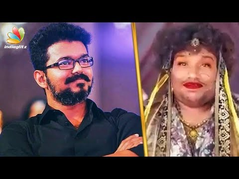 Vijay's Cute Reaction to Yogi Babu's New Getup | Sarkar, Thalapathy 62 | Hot Tamil Cinema News thumbnail
