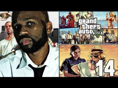 Grand Theft Auto 5 Gameplay Walkthrough Part 14 - THE STRIP CLUB ...