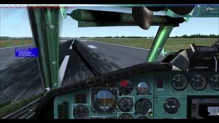FSX Project Tupolev Tu154-B2 Warsaw/EPWA-EPGD/Gdansk Full Flight Part 3 HD