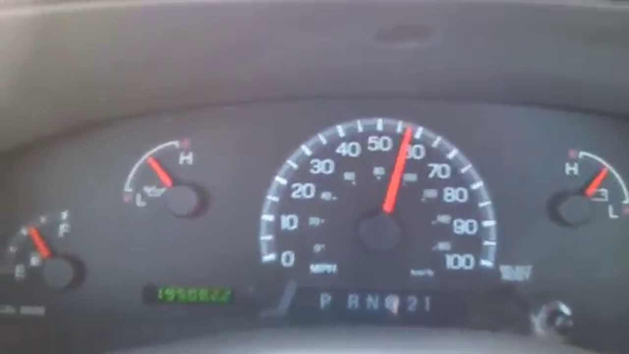 2000 ford f 150 0 60