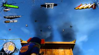 Sunset Overdrive - Tastes Like Chicken: Roast (500 Pigeons) w Traps (Combos) Flaming Compensator