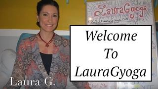 "Welcome to LauraGyoga! & The ""Yoga Board"""