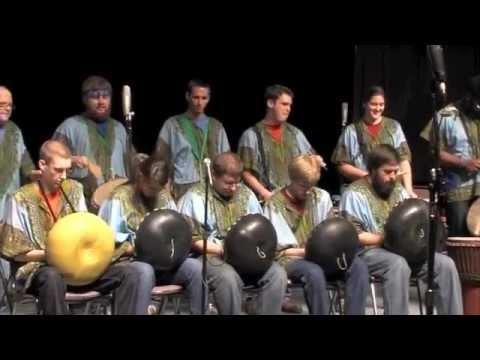 Winthrop University World Percussion Ensemble PASIC 2012 Performance