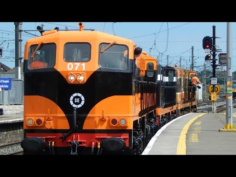 RPSI GM Transfers at Connolly Station 19-7-2016