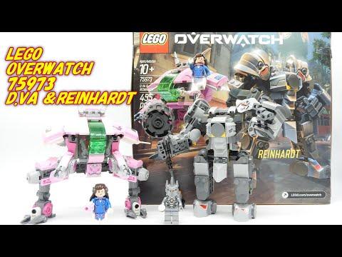 レゴオーバーウォッチ D.VA&ラインハルト 75973 LEGO Overwatch D.Va and Reinhardt