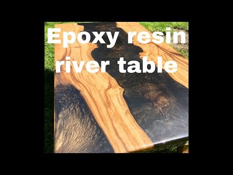 Epoxy Resin River Table D.I.Y