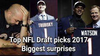 NFL draft picks 2017 biggest surprises! Deshaun Watson drafted by the Houston Texans! NBA playoffs!