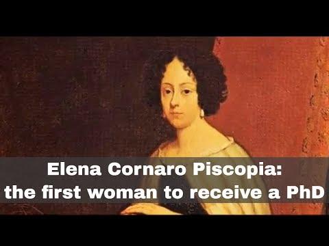 25th June 1678: Elena Cornaro Piscopia becomes the first woman to receive a PhD