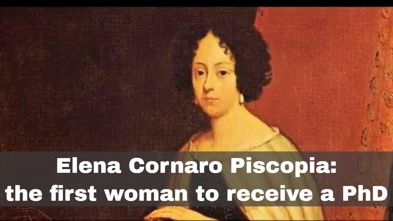 Who was Elena Cornaro Piscopia?