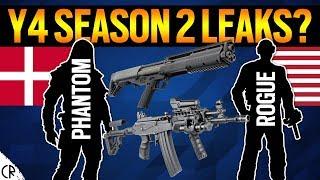 Y4S2 Leaks? - Phantom & Rogue Gadgets & Loadout - 6News - Tom Clancy's Rainbow Six Siege