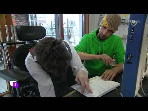"""Thomas Schmucker in der ORF Sendung """"heute leben"""" zeigt """"unterstützte Kommunikation"""""""