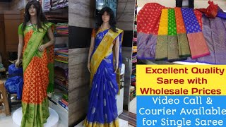 #KALADHAR SAREES || Gorgeous Latest Fancy & Pure Pattu  Wedding Sarees With Wholesale prices