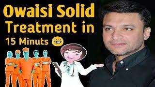 Akbaruddin Owaisi Funny Treatment By Nationalist Doctor 15 मिनट आक्सीजन बंद ओवैसी