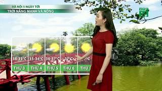 VTC14 | Thời tiết cuối ngày 18/06/2018 | Sáng mai Bắc bộ nắng sớm