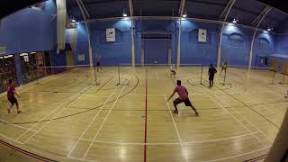 DC Badminton 16/12/2018 - Game 3 - KU vs AW 1