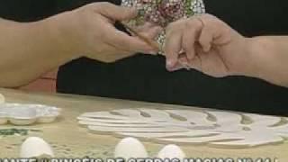 ARTE BRASIL -- ANDRÉIA GOMES -- MOSAICO COM CASCA DE OVO (17/02/2011 - Parte 2 de 2)