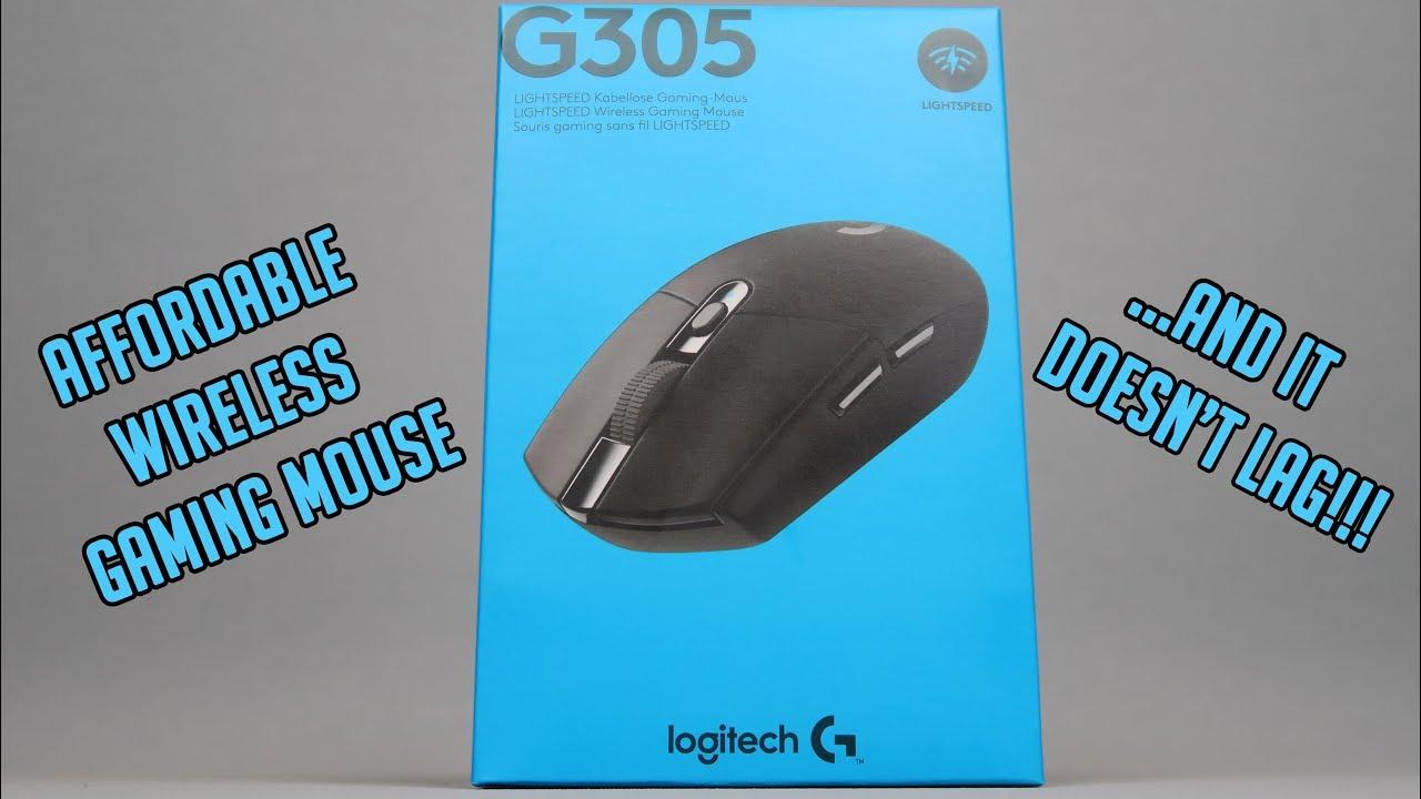 LOGITECH G305 LIGHTSPEED wireless gaming mouse - YouTube