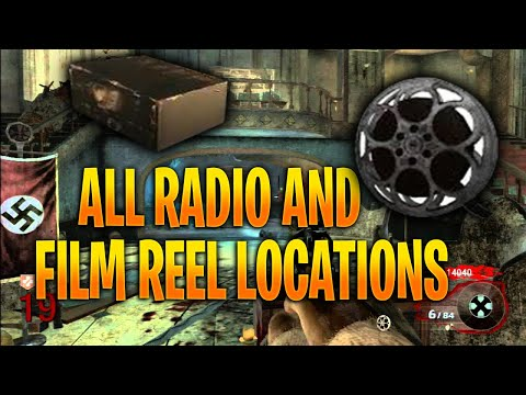 Black Ops Zombies: Kino Der Toten Film Reel and Radio Locations!