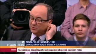 Konrad Hryszkiewicz (Liberalni) vs  Jacek Kurski (Solidarna Polska) i Włodzimierz Czarzasty (SLD)
