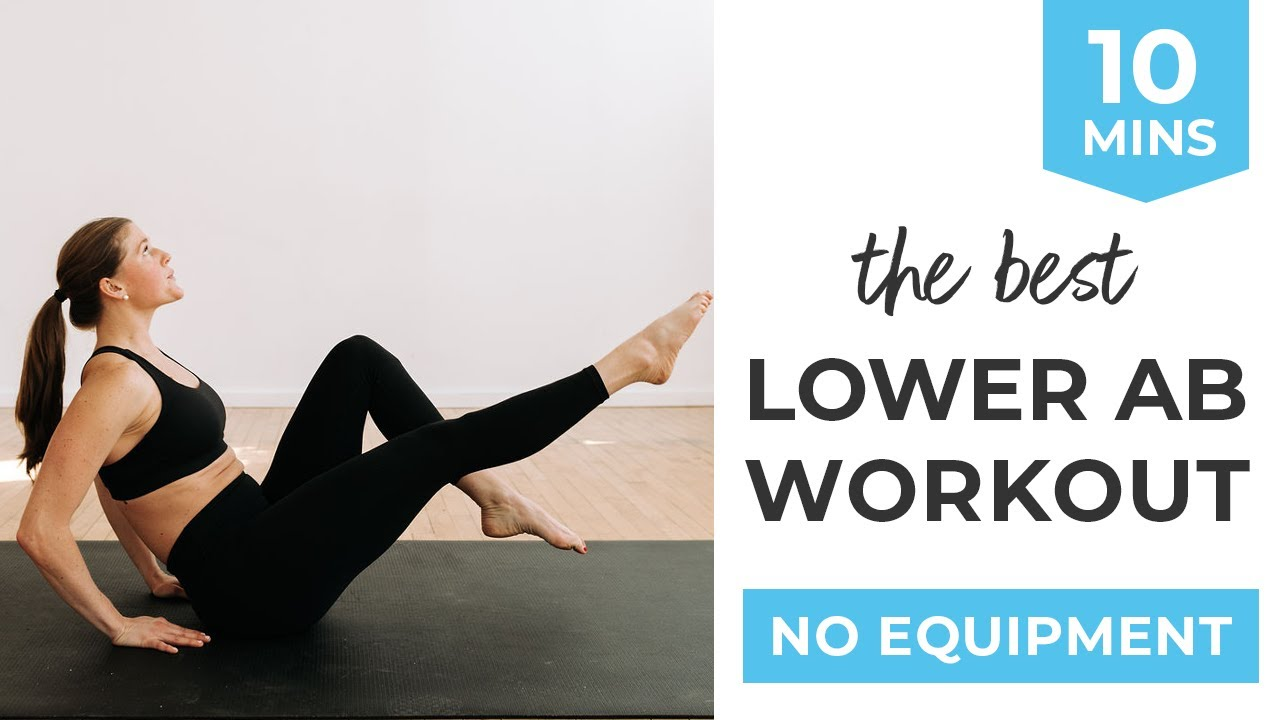 20 Minute Lower Ab Workout for Women Video   Nourish Move Love