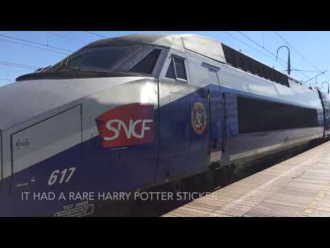 Taking TGV From Avignon To Paris