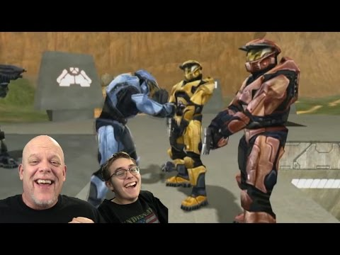 "REACTION VIDEOS | ""Red vs Blue 38"" - Pretty Nifty, Huh?"