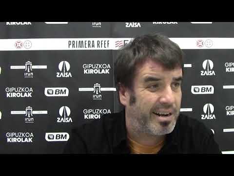 Aitor Zulaika, previa del Bilbao Athletic-Real Unión