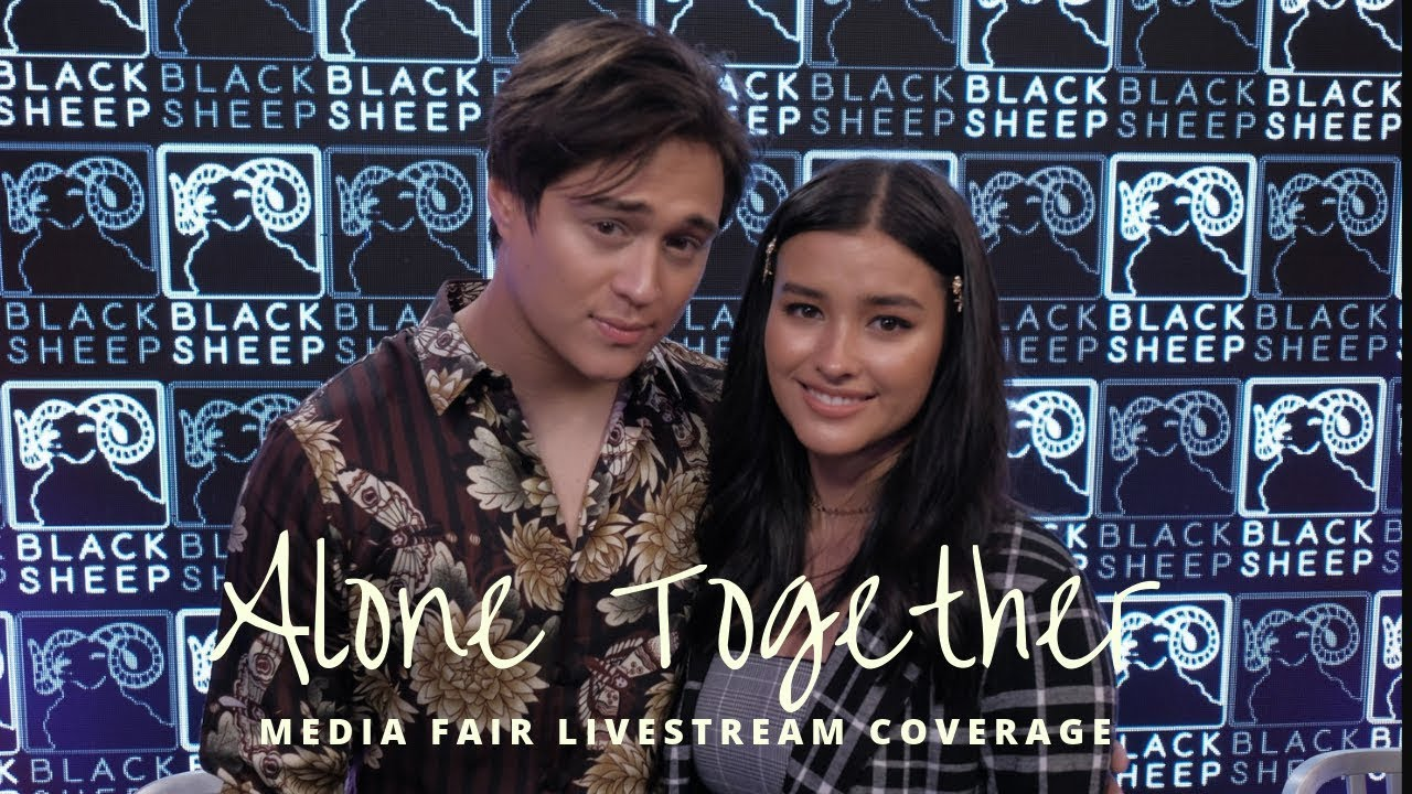 Alone Together LizQuen Movie Media Fair Full Livestream Coverage