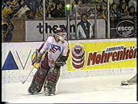 Spengler Cup 1988 USA vs Kosice Sudden death shootout