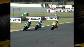 MotoGp Sud Africa 2004: Rossi e Biaggi, sorpassi all