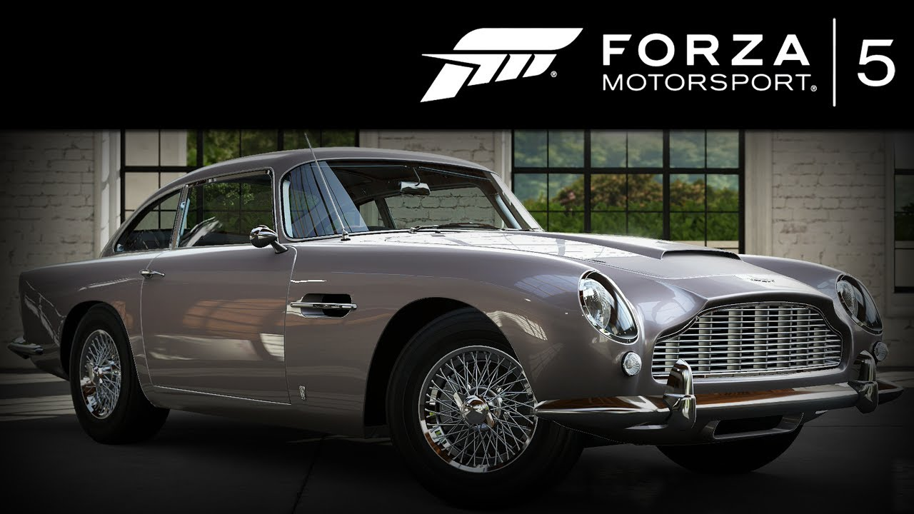 forza 5 aston martin db5 1964 forzavista 1 lap james bond 007 edit youtube. Black Bedroom Furniture Sets. Home Design Ideas