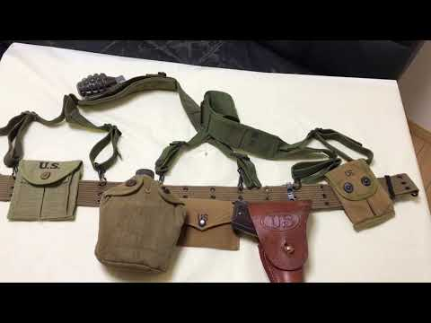 Korean War US Army Kit And Uniform