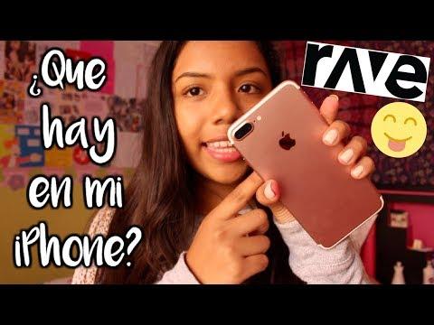 ¿QUÉ HAY EN MI IPHONE 7 PLUS? + NETFLIX CON AMIGOS EN RAVE!   Johanna De La Cruz