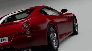 GRAN TURISMO HD FEATURING FERRARI GT CARS