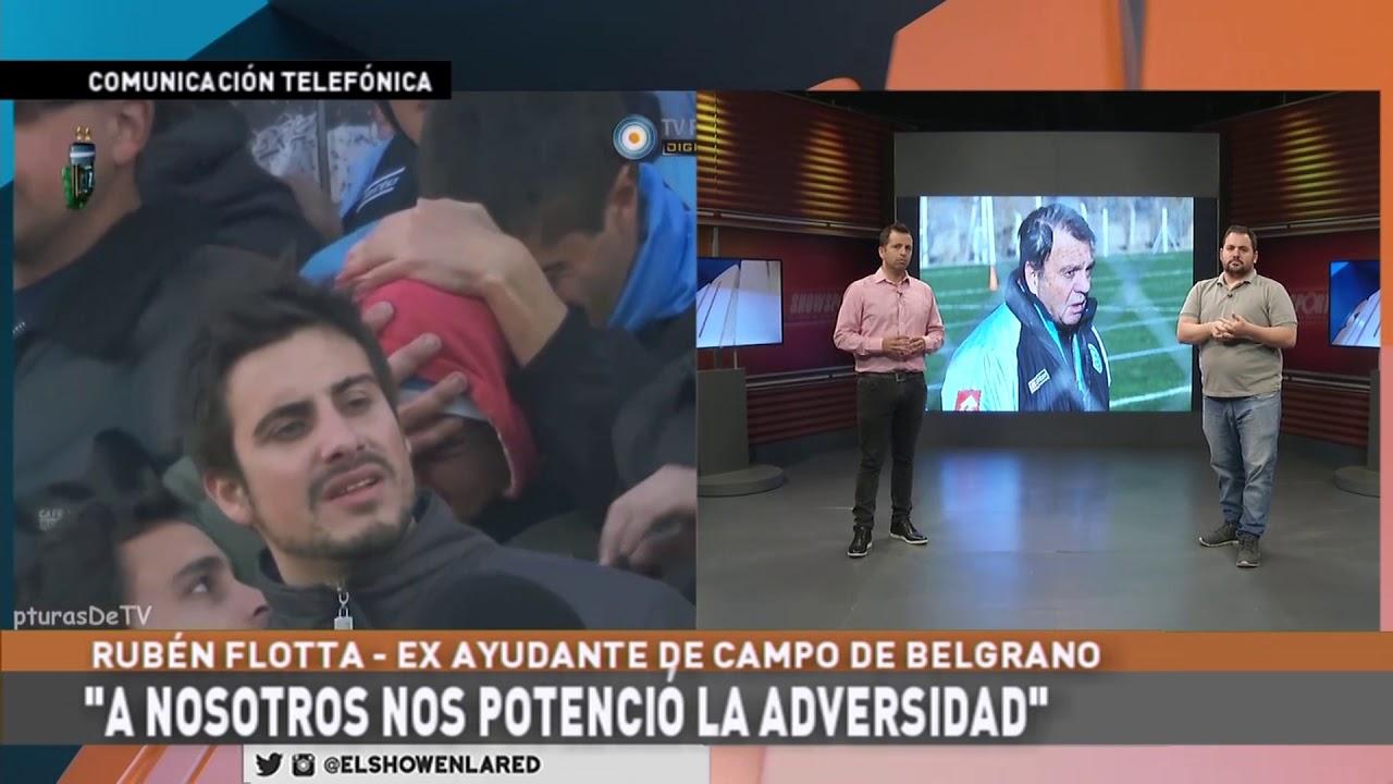 Belgrano   Ruben Flota a 9 años del ascenso en El Show En La Red