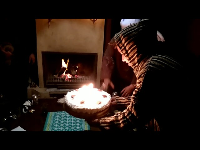 Amazigh style birthday in the Sahara Desert Morocco