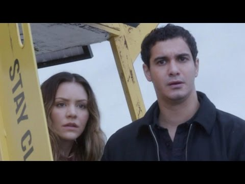 Behind the s of 'Scorpion' with Katharine McPhee and Elyes Gabel