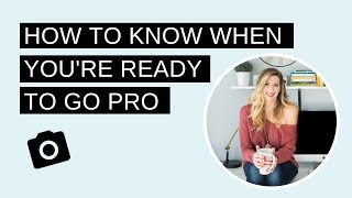 How To Know When You're Ready To Go Pro By The Booked Photographer