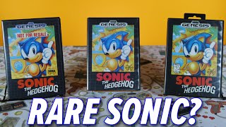 Is Your Copy Of Sonic Rare? | Complete In Box