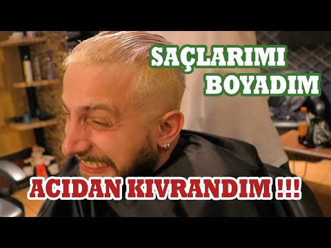 SAÇLARIMI BOYARKEN ACISINDAN BAYILIYORDUM !! (GRİ SAÇ))