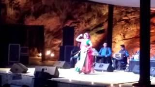 Malini Awasthi is an Indian folk singer Performing Live at Gurgaon Utsav