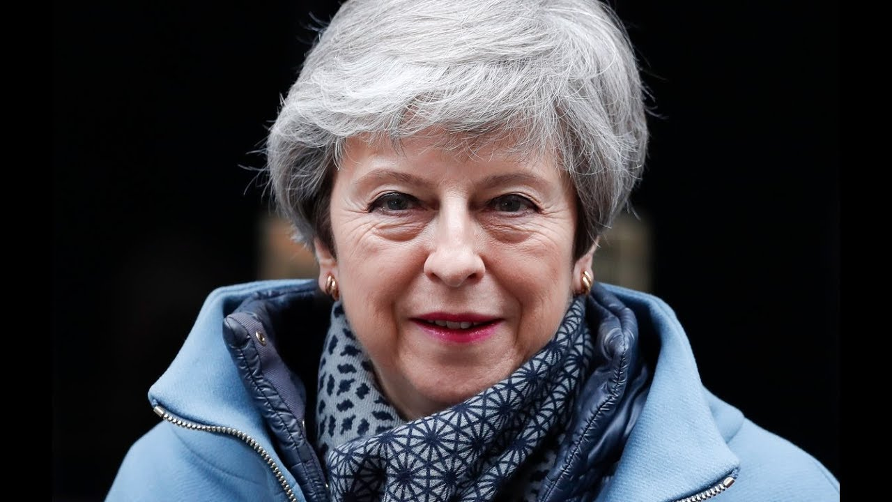 British PM Theresa May says she will quit if her Brexit deal is passed