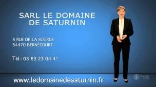 SARL LE DOMAINE DE SATURNIN - Chambres d