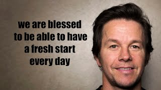 Mark Wahlberg's best speeches and advice