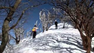 2014 01 24 高見山 大峠から周回