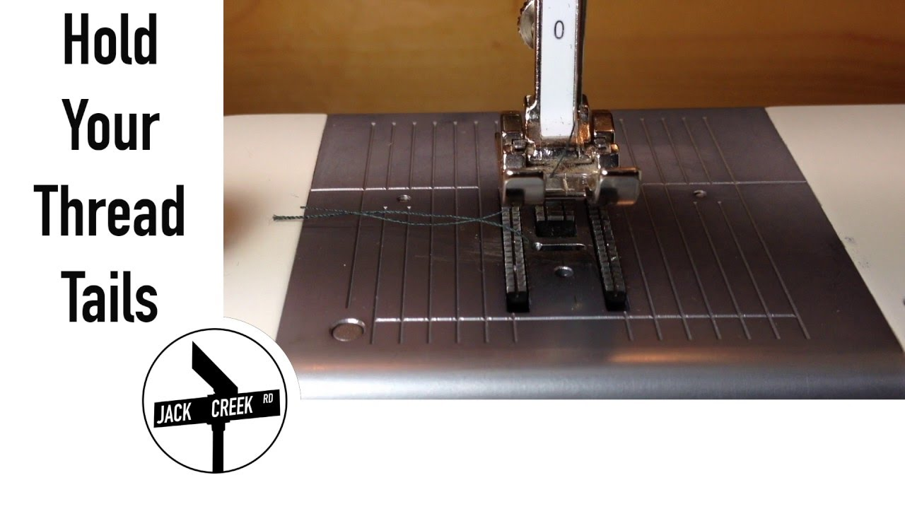Sewing Machine Problems Jamming Thread Bunching Tutorials On Winding Your Bobbin And Threading Tails Youtube