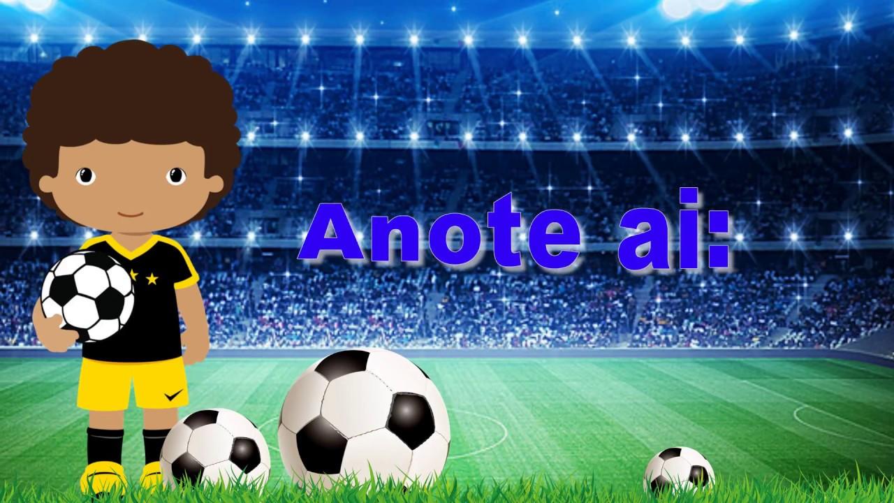 Convite Animado Virtual Tema Futebol Youtube